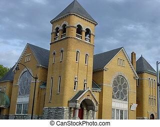 Church in Norwalk, CT (USA)