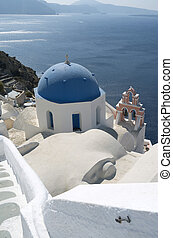 Church in Oia.