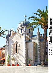 Church in Old town of Herceg Novi