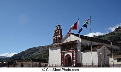 Church in Oropesa, Peru