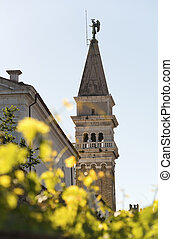 Church in Piran- Slovenia - Saint Jurij church in Piran - ...