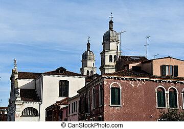 church in prague, photo as a background