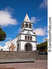 Church in Puerto del Rosario, Canary Islands, Fuerteventura...
