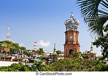 Church in Puerto Vallarta, Jalisco, Mexico - Our Lady of...