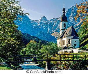 Church in Ramsau