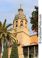 Church in Ronda Spain