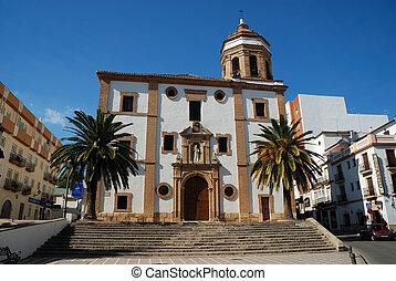 Church in Ronda, Spain