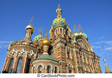 Church in Saint Petersburg, Russia