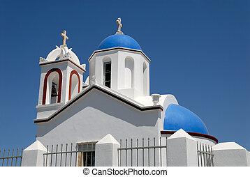 Church in Santorini, Greece
