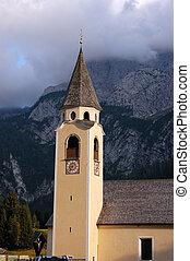 Church in Sappada - Belluno Italy