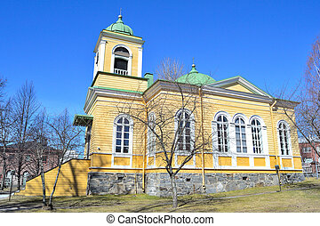 Church in Savonlinna, Finland