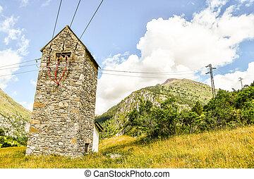 church in scotland, photo as a background