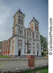 Church in Seredzius, Lithuania