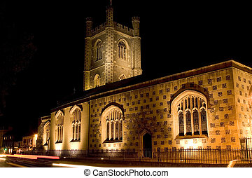 Church in spotlight