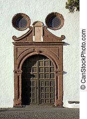 Church in Teguise, Lanzarote