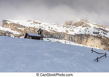 Church in the Dolomites