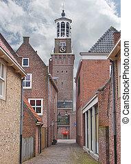 Church in the Dutch town of Heusden. Netherlands