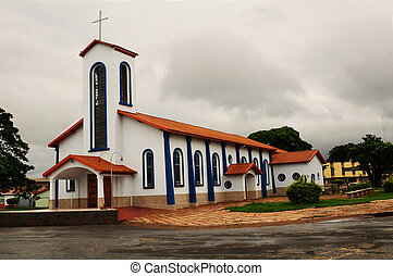 church in the interior of brazil