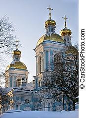 Church in the winter