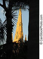 church in tropics