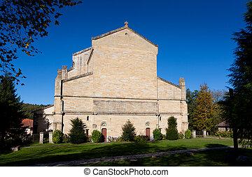 Church in Urkiola, Bizkaia, Basque Country, Spain