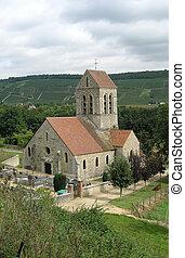 Church in valley