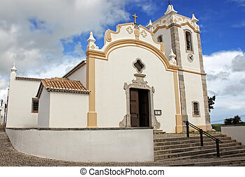 Church in Vila do Bispo, Algarve, Portugal