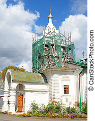Church in historical center of Vologda, Russia.