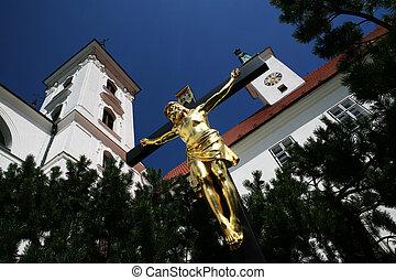Church in Vranov near Brno