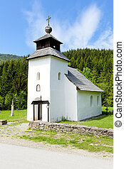church in Vychylovka, Slovakia