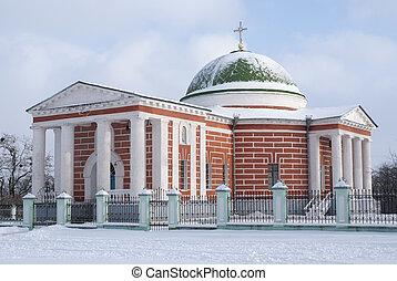 Church in winter - Church of the Transfiguration (1811-17)...