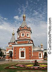 Church in Yaroslavl Russia