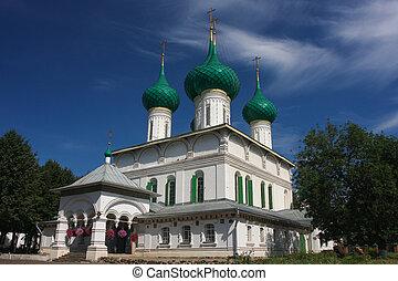 Church in Yaroslavl, Russia
