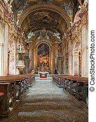 church interior - Piaristick church of St. Frantisek...
