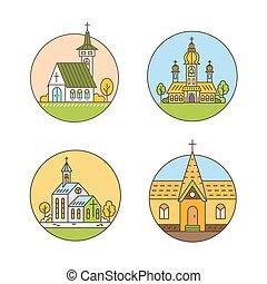 Church line set