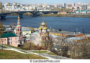 Church Nativity of Most Holy Mother God Nizhny Novgorod