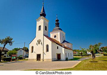 Church od Koruska in Krizevci, Prigorje, Croatia