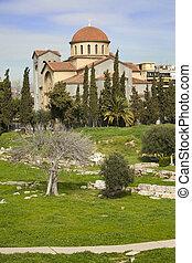 Church of Agia Triada in Athens - Church of Agia Triada (...