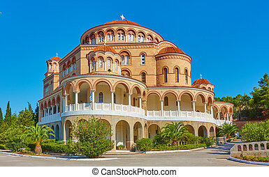 Church of Agios Nektarios (Saint Nectarios) in Aegina - The ...