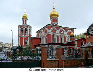 Church of all saints in Kulishkah - Moscow