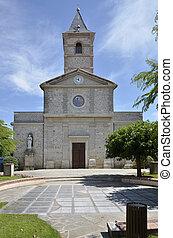 Church of Briatexte in France
