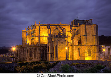 Church of Castro Urdiales, Cantabria, Spain