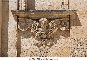 Church of Dominicans. Sternatia. Puglia. Italy.