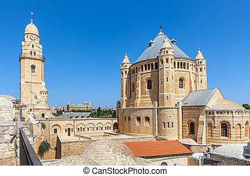 Church of Dormition in Jerusalem.