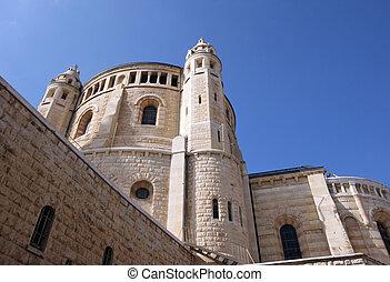 Church Of Dormition on Mount Zion, Jerusalem
