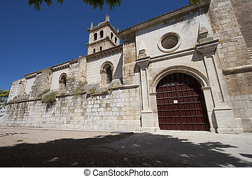 Church of Duenas, Palencia, Castilla y Leon, Spain