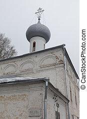 Church of Elijah the Prophet in stone Vologda