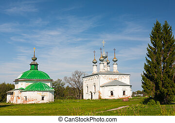 Church of Jesus' triumphal entry into Jerusalem, Suzdal, Russia