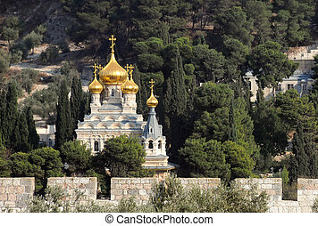 Church of Maria Magdalene in Jerusalem