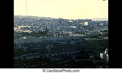 Church of Mary Magdalene of Jerusalem - Aerial view of the...